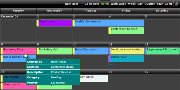 Calendar Plus Provides Multiple Views